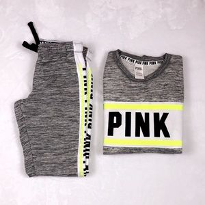 Pink Victoria Secret Sweatsuit